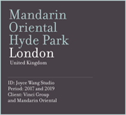 Mandarin Oriental Hyde Park | London
