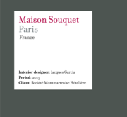 Maison Souquet | Paris