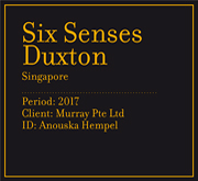 Six Senses Duxton | Singapore