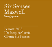 Six Senses Maxwell | Singapore
