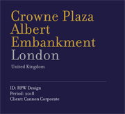 Crowne Plaza Albert Embankment | London